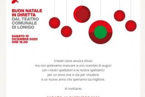 Buon Natale in diretta dal Teatro Comunale di Lonigo