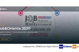 Rai Cultura/Rai Scuola mediapartner di JOB&Orienta 2020