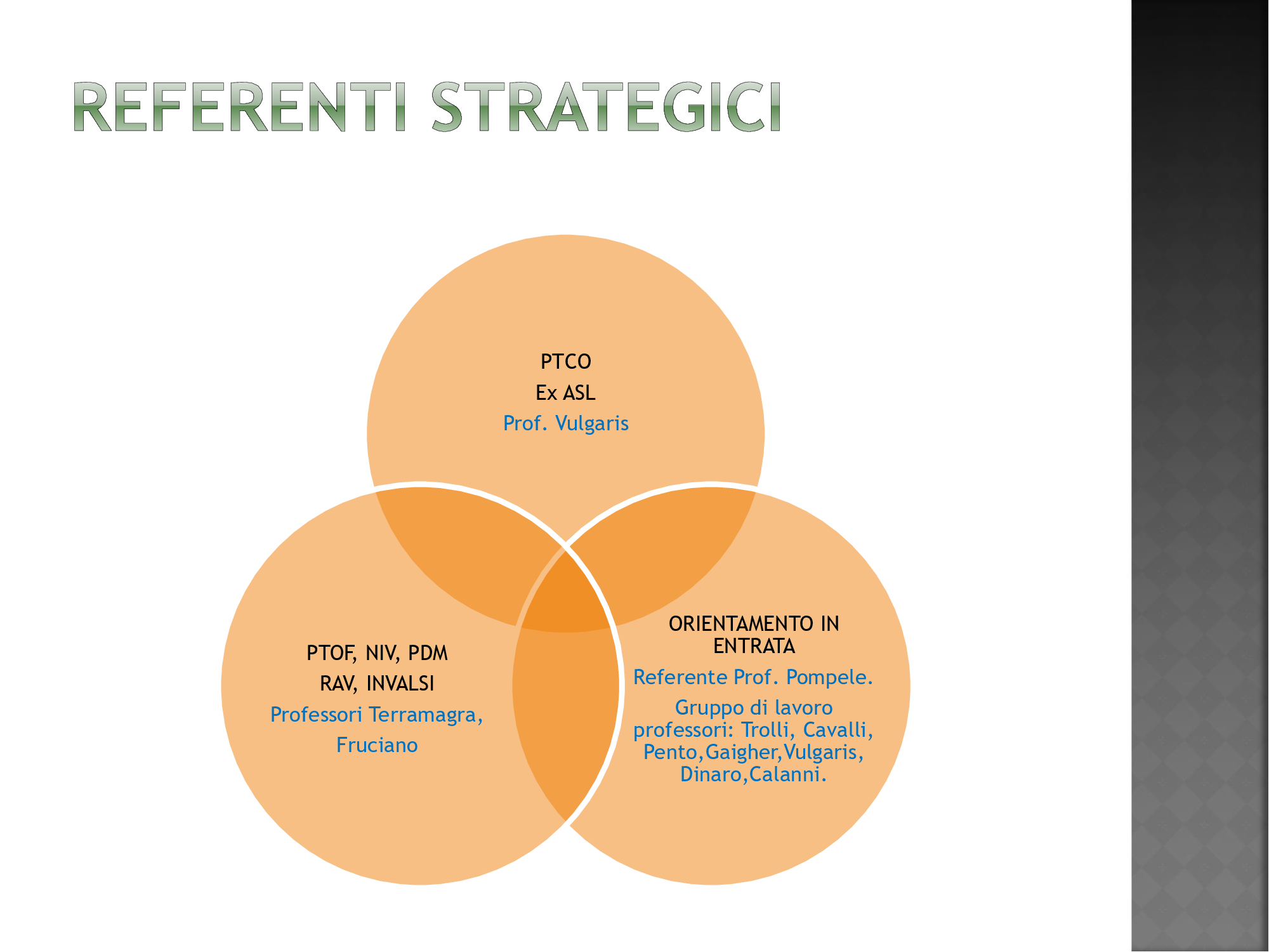 3 referenti strategici